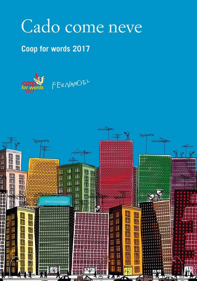 Cado come neve. Coop for words 2017